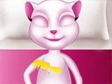 Cute Baby Talking Angela