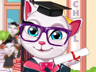 Talking Angela Graduation Makeover