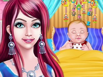 Princess and her Charming Baby