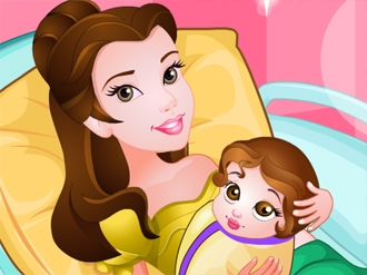 Princess Belle Gives Birth