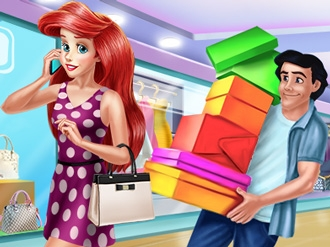 Ariel and Eric Shopping Day