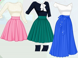 Ellie's Autumn Trends: Pleated Skirts