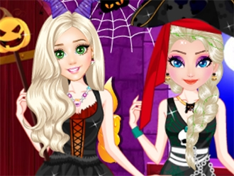 princesses halloween fashion my cute games - Halloween Fashion Games