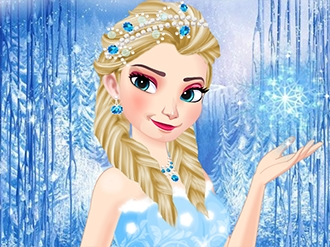 Ice Queen Elsa Winter Fashion