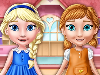 Elsa And Anna Doll House