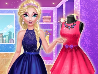 Elsa's Dream Dress