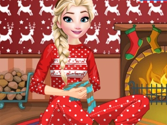 Elsa Christmas Night