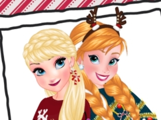 Frozen Sisters Ugly Xmas Sweater