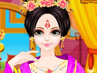 Chinese Princess Hair Design