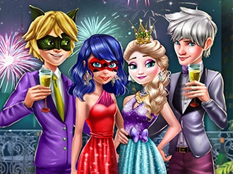 Princess Couples New Year Party