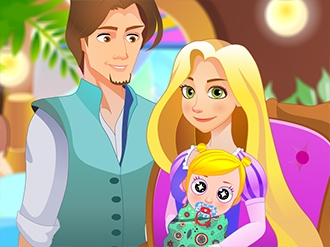 Rapunzel's Happy Days