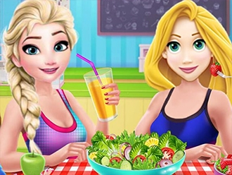 Princesses After Workout