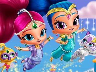 Shimmer and Shine Looks