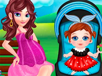 Pregnant Elsa Baby Care