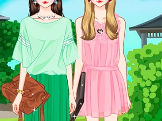 Pink And Green Fashion