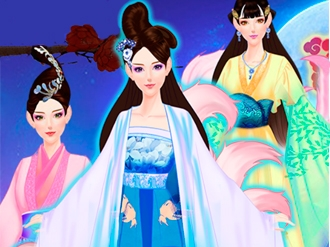 Dress Up Salon - Chinese Princess