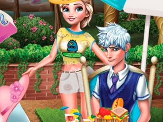 Elsa And Jack Picnic Day