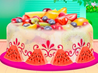 Fruity Ice Cream Cake