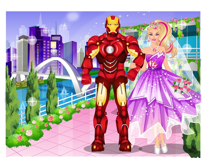 Barbie's Superhero Wedding
