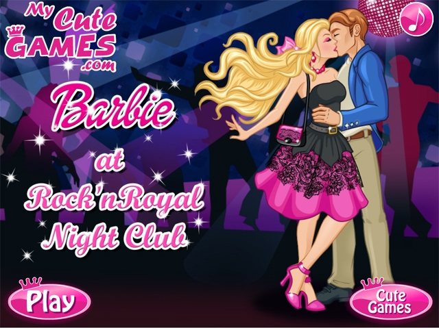 Online igrica Barbie at Rock 'n Royal Night Club