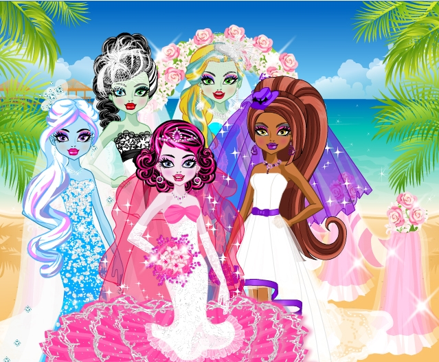 Monster High Cute Brides