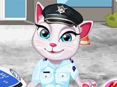 Talking Angela Police Officer