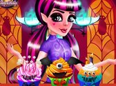 Draculaura Monster Cupcakes