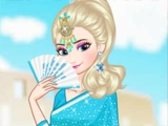 Elsa Around the World