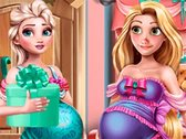 Elsa and Rapunzel Birth Preparations