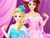 Elsa and Anna Party Looks