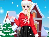 Princess Elsa Christmas Dress Up