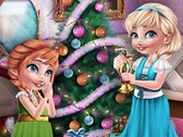 Frozen Sisters Christmas Prep