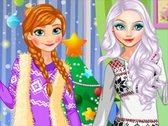 Elsa and Anna X-mas Tree Fashion
