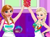 Princesses Cheerleader Style