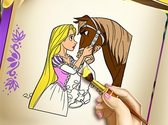 Rapunzel Fun Coloring Book