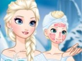 Frozen Elsa Spa Makeover
