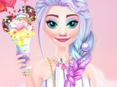 Ellie and Elsa in Candyland