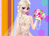 Elsa Wedding Prep Dressup