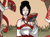 Geisha Dress up game