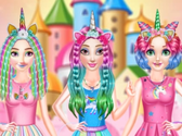 Princess Unicorn Hair Salon