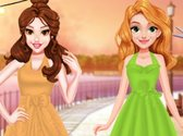 Princess Retro Chic Dress Design