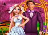 Rapunzel And Flynn Magical Wedding