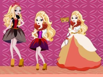 apple white doll house my cute games