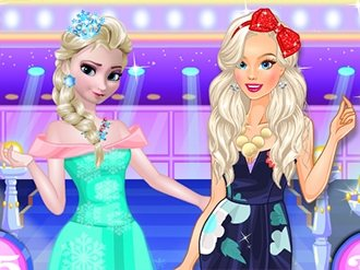 Elsa vs Barbie Fashion Show - My Cute Games